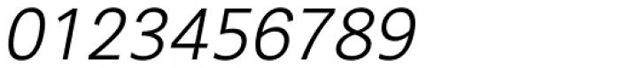 Segaon Light Italic Font OTHER CHARS