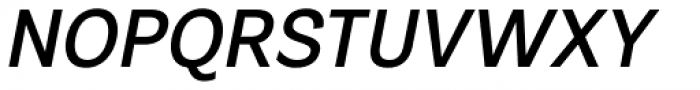 Segaon Medium Italic Font UPPERCASE