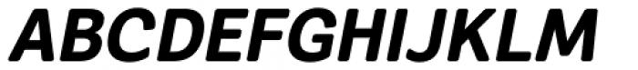 Segaon Soft Extra Bold Italic Font UPPERCASE
