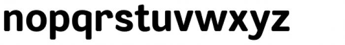 Segaon Soft Extra Bold Font LOWERCASE
