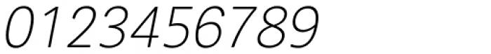 Segaon Soft Extra Light Italic Font OTHER CHARS