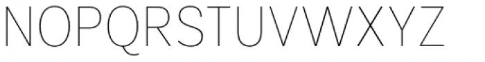 Segaon Soft Thin Font UPPERCASE
