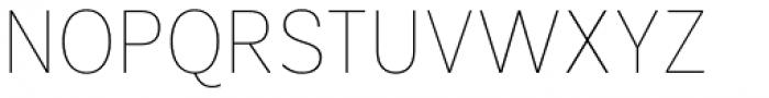 Segaon Thin Font UPPERCASE