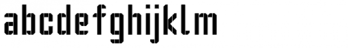 Segmenta Font LOWERCASE