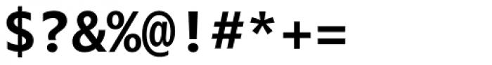 Segoe Mono Bold Font OTHER CHARS