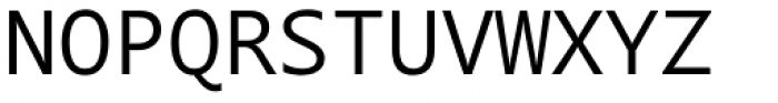 Segoe Mono Font UPPERCASE