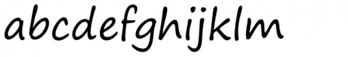 Segoe Print Font LOWERCASE