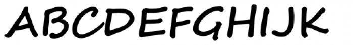 Segoe Script Bold Font UPPERCASE