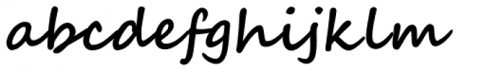 Segoe Script Bold Font LOWERCASE