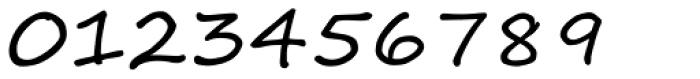 Segoe Script Font OTHER CHARS