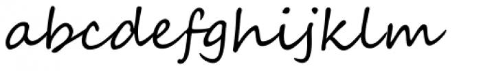 Segoe Script Font LOWERCASE