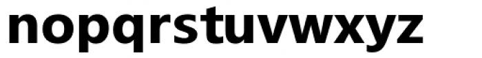 Segoe TV Bold Font LOWERCASE