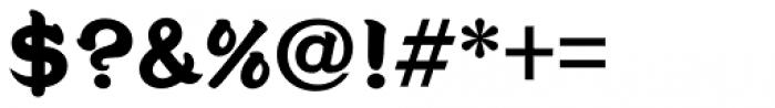 Seibi Jindai UltraBold Font OTHER CHARS