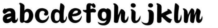 Seibi Ohkido UltraBold Font LOWERCASE