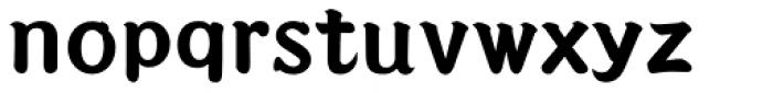 Seibi Takanawa UltraBold Font LOWERCASE