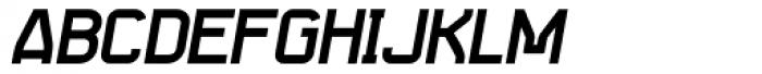 Seize Bold Italic Font UPPERCASE