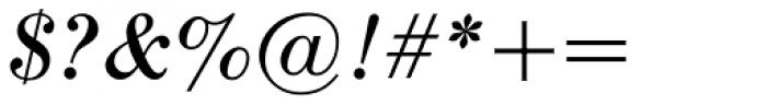 Seizieme Pro Italic Font OTHER CHARS