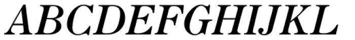 Seizieme Pro Italic Font UPPERCASE