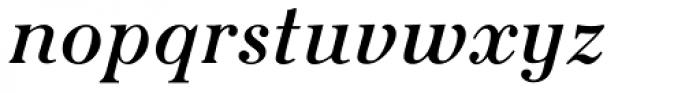Seizieme Pro Italic Font LOWERCASE