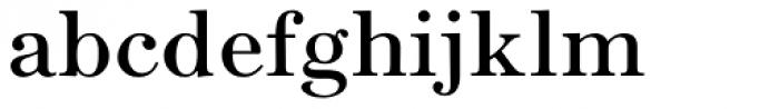 Seizieme Pro Font LOWERCASE