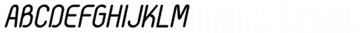 Selecta Bold Italic Font UPPERCASE