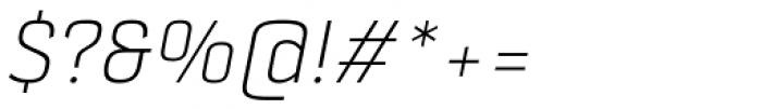 Selektor Light Italic Font OTHER CHARS