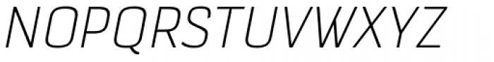 Selektor Light Italic Font UPPERCASE