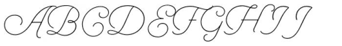 Selfie Light Font UPPERCASE
