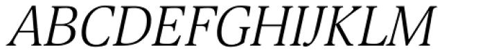Selina Light Italic Font UPPERCASE
