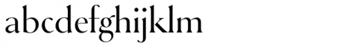 Selune Pale Font LOWERCASE