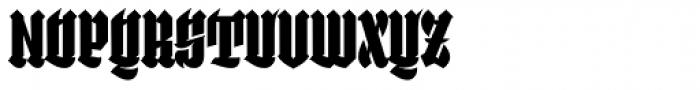 Selva Black Font UPPERCASE