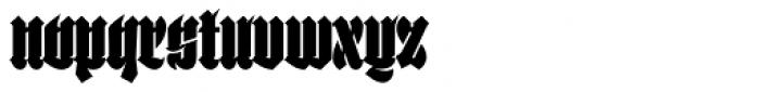 Selva Black Font LOWERCASE