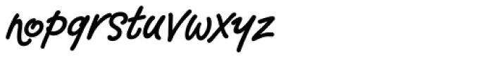 Semaphone Font LOWERCASE