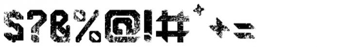 Semiautonomous Subunit Clade Damaged Font OTHER CHARS