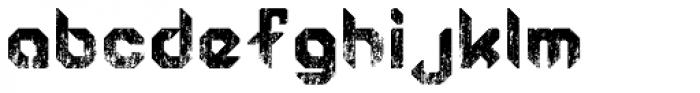 Semiautonomous Subunit Clade Damaged Font LOWERCASE