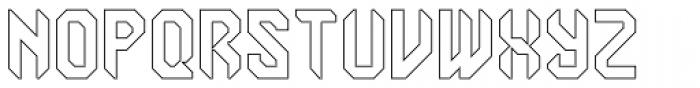 Semiautonomous Subunit Clade Hollow Font UPPERCASE