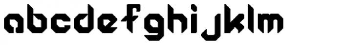 Semiautonomous Subunit Clade Regular Font LOWERCASE