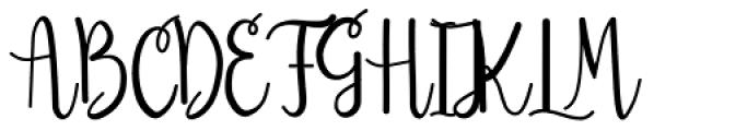 Sendica Regular Font UPPERCASE