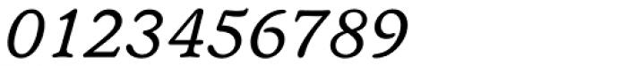 Seneca BQ Italic Font OTHER CHARS