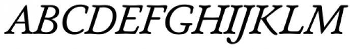 Seneca BQ Italic Font UPPERCASE
