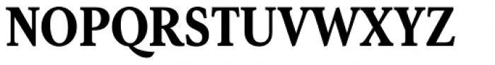 Senlot Serif Condensed Black Font UPPERCASE