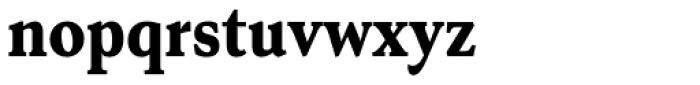 Senlot Serif Condensed Black Font LOWERCASE