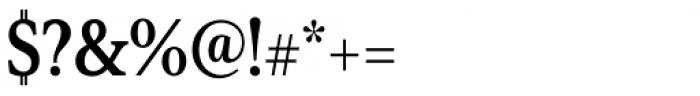 Senlot Serif Condensed Bold Font OTHER CHARS