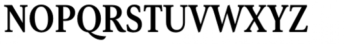 Senlot Serif Condensed Bold Font UPPERCASE