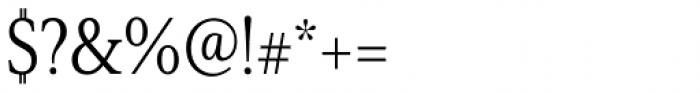 Senlot Serif Condensed Book Font OTHER CHARS