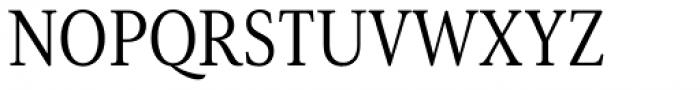 Senlot Serif Condensed Book Font UPPERCASE