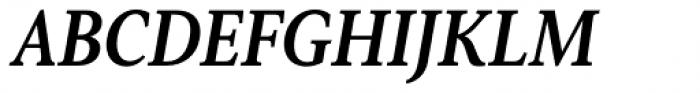 Senlot Serif Condensed Ex Bold Italic Font UPPERCASE