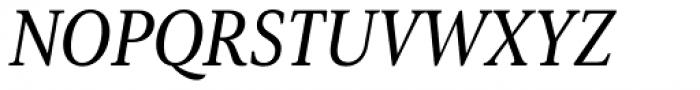 Senlot Serif Condensed Medium Italic Font UPPERCASE