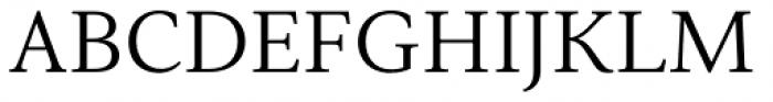 Senlot Serif Extended Book Font UPPERCASE