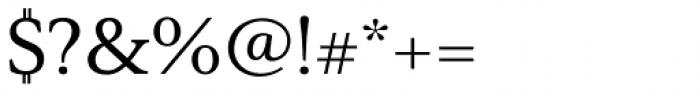 Senlot Serif Extended Medium Font OTHER CHARS